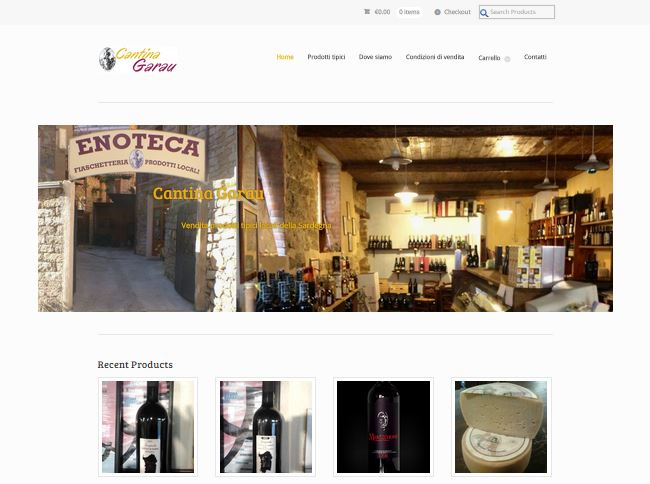 Cantina Garau E-commerce