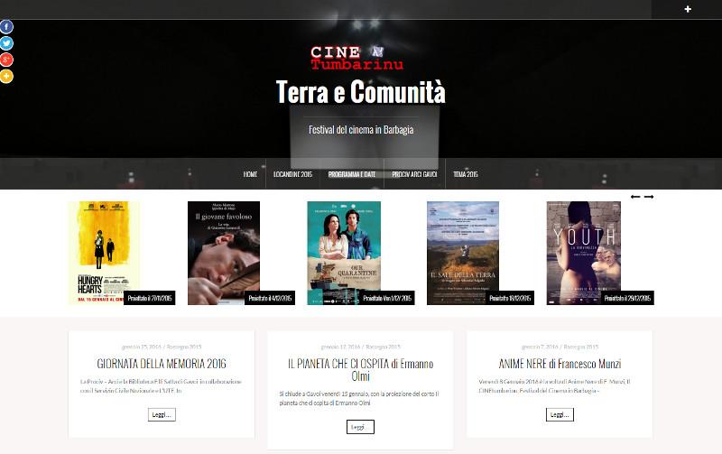 """CINE-Tumbarinu """"Terra è Comunità"""""""